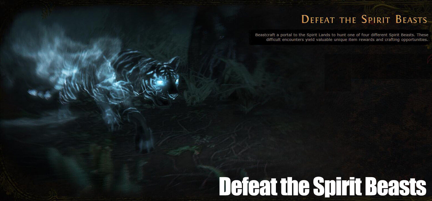 Defeat the Spirit Beasts